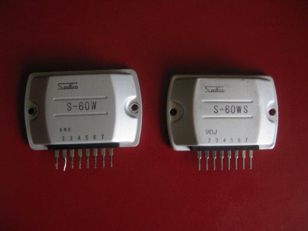 S-60W Power Amplifier Sanken 8-pin S60W