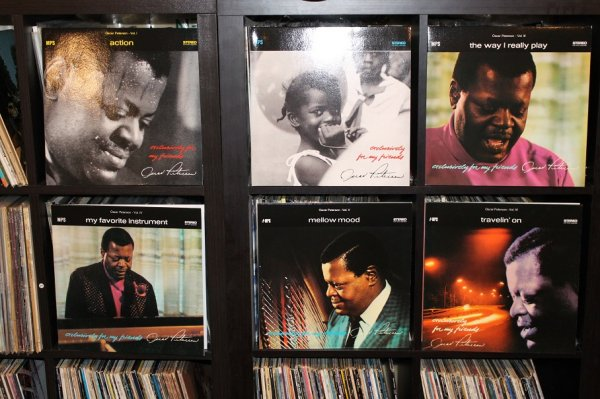 Oscar Peterson - exclusively for my friends.JPG