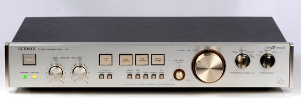 Luxman C 02 Stereo Pre Amplifier What S Best Audio And