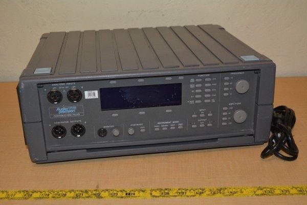 Audio Precision Portable One Plus Audio Analyizer and Tone Generator