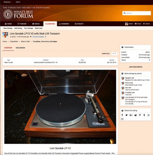 What's Best Audio and Video Forum  The Best High End Audio Forum on