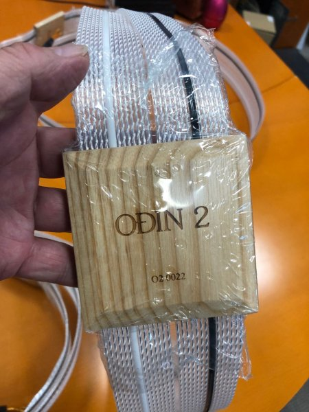 Nordost Odin Series 2 Supreme Reference Speaker cables 3.0 meter pair ( 10 foot pair) with spades